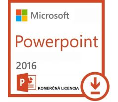 Microsoft Powerpoint 2016 SK